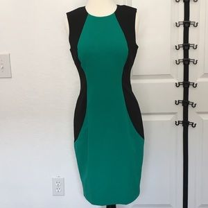 Calvin Klein Colorblock Career Dress